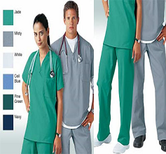 med clothing